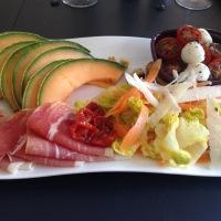 Assiette de Salades Composées à l'italienne