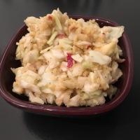 Salade de Chou Blanc et Pomme avec ou sans Thermomix